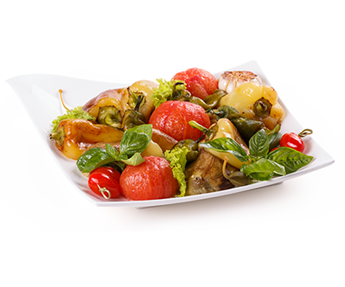 Vegetable Mix Grill Kebab